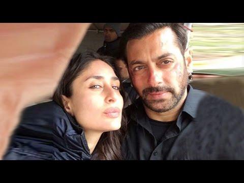 Salman Khan & Kareena Kapoor's SELFIE In Kashmir