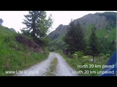 Col du Cormet d'Ardeche French Alps Motorbike travel on BMW R1200GS Motorcycle Lifeisjoy
