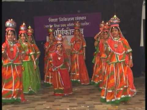 Vaidehi joshi at Varshikotsav Banswara.VOB