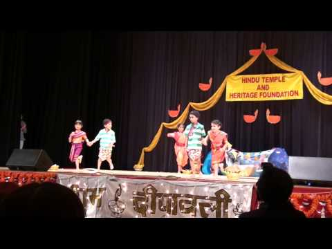 Mi Hai Koli (pasadena Temple) - Diwali 2009 video