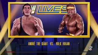 WWE 2K15- Hulk Hogan vs Andre The Giant Normal Match  (PS4)