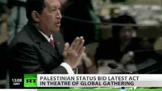 Chavez singing, Khrushchev banging shoe - best in UN history
