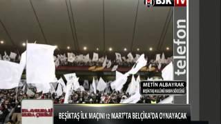 METİN ALBAYRAK KURA ÇEKİMİNİ BJK TV'YE DEĞERLENDİRDİ