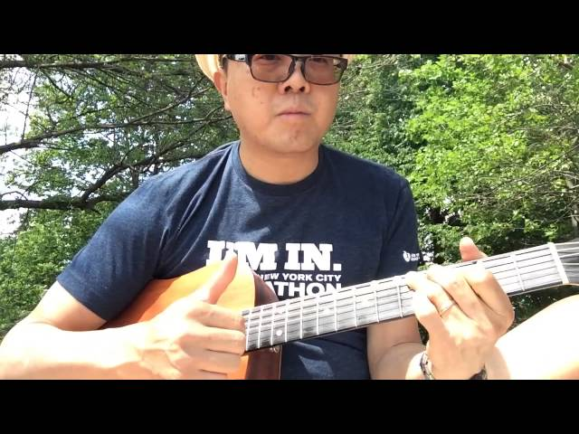 Slap Guitar with open tuning