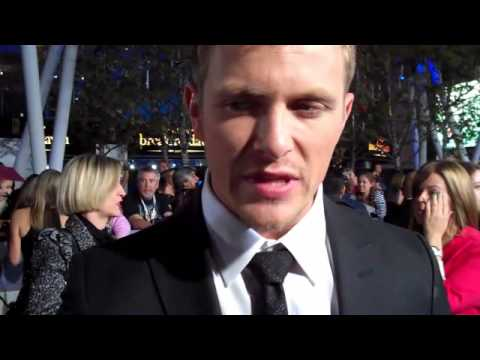 Breaking Dawn Part 2 L.A. Premiere - Charlie Bewley