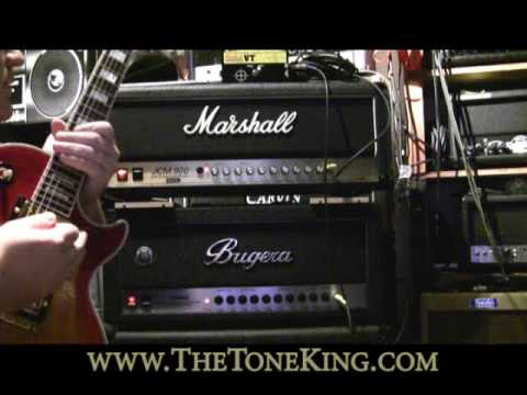 Bugera 1990 vs. Marshall JCM 900 Shoot-out TTK Style !!! Amp Review Demo NAMM 2010 '10