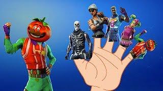 Fortnite Dances Finger Family Song Daddy Finger Song Play 4 Kids TV