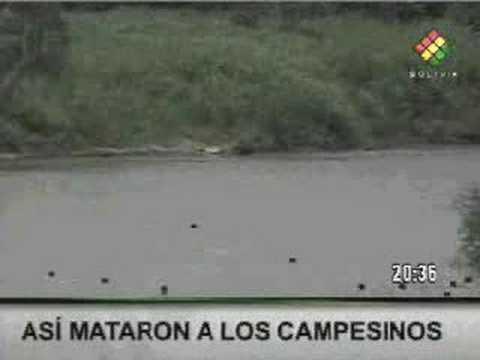 VIDEO revela cómo sicarios masacraron a indefensos campesinos - El Porvenir Cobija Pando