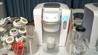 Michael Artsis previews the Keurig Kold Drinkmaker on BeTerrific!