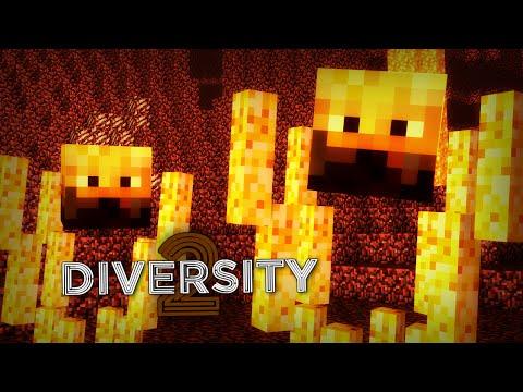 Minecraft 1.8   Lava Death Run   Treasure Hunt Complete! (Minecraft Diversity 2)