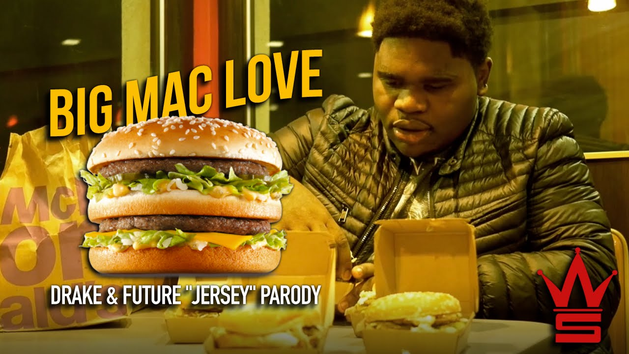 "Fatboy SSE - Big Mac Love (Drake & Future ""Jersey"" Parody)"
