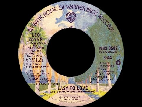 Leo Sayer ~ Easy To Love 1977 Disco Purrfection Version