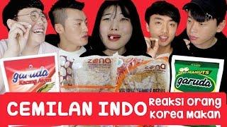 Download Lagu Reaksi Orang Korea Makan CEMILAN INDONESIA!!ㅣINDONESIAN SNACK taste testㅣCOWOK KOREA Korean Guy Gratis STAFABAND