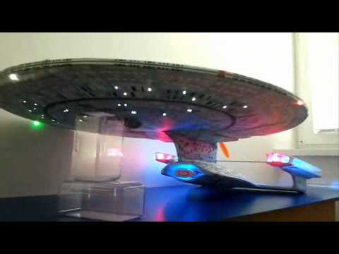 Flying RC Model StarTrek USS-Enterprise NCC-1701-D Part 1