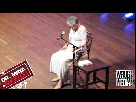 Dr. Maya Angelou Speaks About Her Childhood