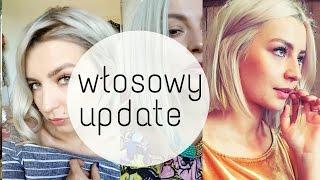 MÓJ KOLOR WŁOSÓW + PIELĘGNACJA  ❤ platynowe srebrne włosy blond ❤ ThePinkRook