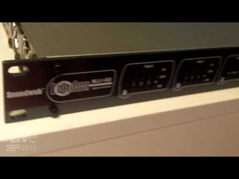 ISE 2015: Harman's BSS Audio Features Conferencing Processor BLU-103 with AEC and VolP