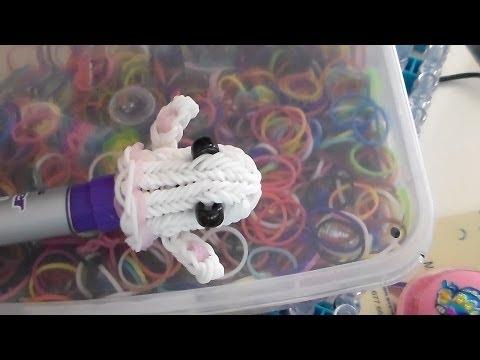 ריינבו לום מדריך רוח רפאים Ghost  - mickymt007 :  Rainbow Loom גומילום