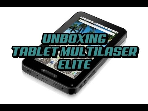 Tablet Multilaser PC Elite NB 003 Android 2.3