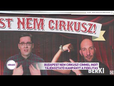 Budapest nem cirkusz! - ezzel a címmel indít tájékoztató kampányt a Fidelitas