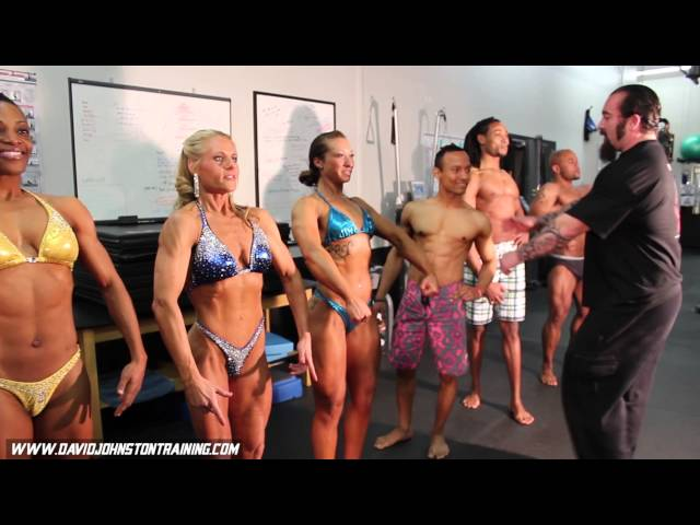 Physique Contest Prep: David Johnston Training, Team Warrior Within