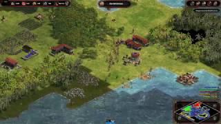 Age of Empires: Definitive Edition - 3v3 RM Islands Romans - eartahhj - 12/03/2018