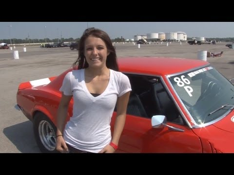 16 Year Old Girl's 11 Second Camaro! video