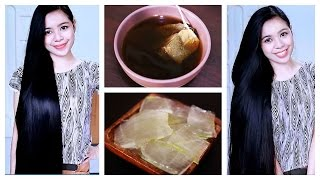 DIY Green Tea and Aloe Vera Gel Shampoo For Hair Growth, Hair Fall & Dandruff-Rinse & Mask