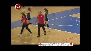 Tepebaşı Gençlik 3 - Cadence Gölcük İhsaniye 0 TVF Kadınlar 2.Lig