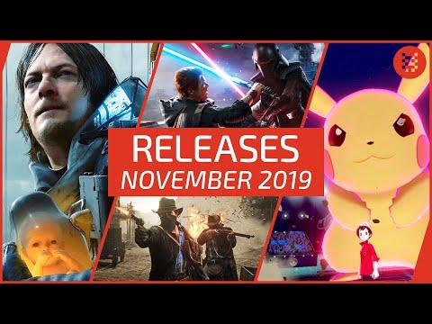 🆕 Neue SPIELE im NOVEMBER 2019 für PS4, Xbox One, Nintendo Switch & PC
