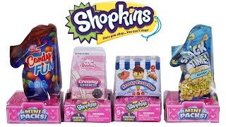 Shopkins Season 10 Mini Packs Collector's Edition Blind Box Unboxing Toy Review