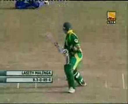 Sri Lanka's Lasith Malinga Claims A World Record !