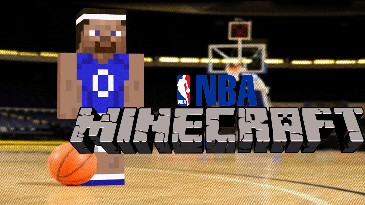 Things To Do In Minecraft Build A Basketball Court Youtube