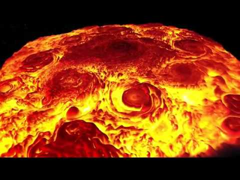 Jupiter North Pole Infrared Flyover