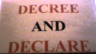 HAVE FUN WITH GOD - DECREE AND DECLARE (BILL WINSTON) #2