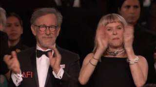 Composer John Williams feted by Hollywood.