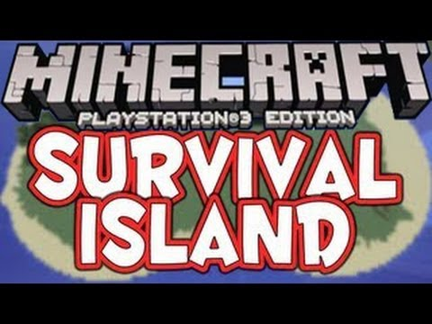 Minecraft PlayStation 3 - Survival Island SEED Showcase - PS3 Title Update 13 (