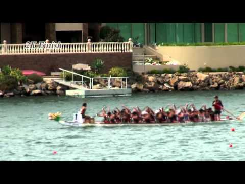 Dragon Boat 2K race Adelaide CCWC 2016