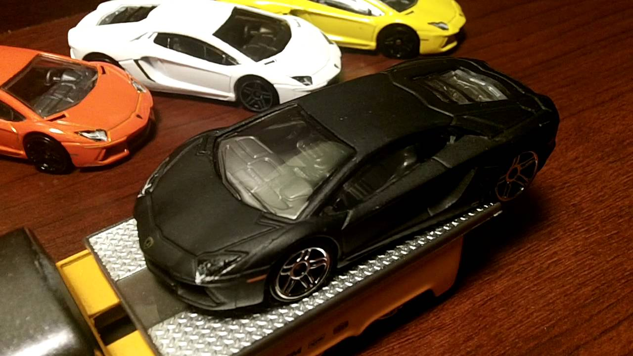 Hot Wheels Lamborghini Aventador Collection Youtube
