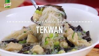 Resep Royco - Tekwan