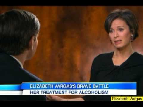 "Elizabeth Vargas "" Yes I Am An Alcoholic"" Shocking Confession"
