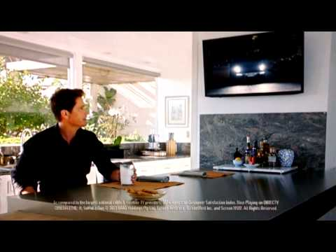 Overly paranoid rob Lowe direct TV commercial