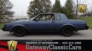 1984 Buick Regal Type T,Gateway classic cars Nashville,#647