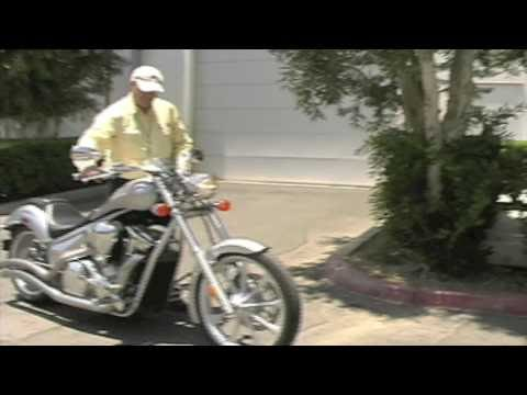 Spy Video Honda Fury with Cobra Swept Exhaust!
