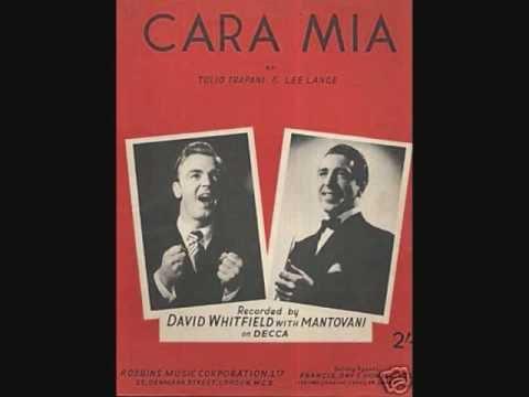 Gene Pitney - Cara Mia w/ LYRICS - YouTube