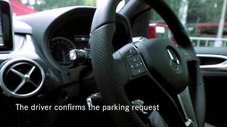Mercedes-Benz Singapore: Active Parking Assist on the new B-Class