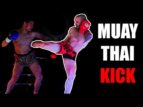How To Throw A Muay Thai Roundhouse Kick - Basic Muay Thai Techniques Image 1