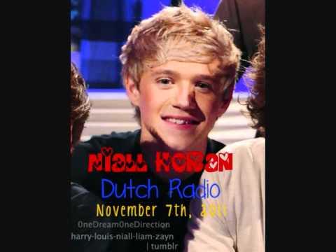 Niall Horan On Dutch Radio