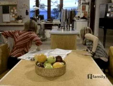 Olsen Twins Tv Thong Slip