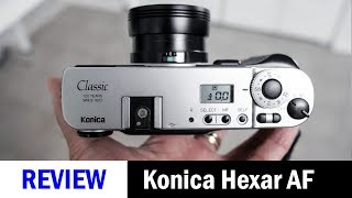 Analogue Camera Review: Konica Hexar AF Classic